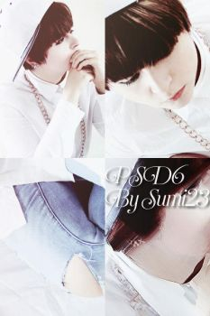 PSD6 Tone Blue Gray/ By Sumi23/ Cosplay JungKook by DDH-Sumi23