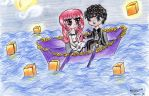 My contest entry:Sailing in the moonlight by cutekawaii96