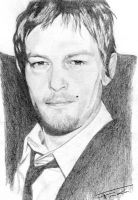 Norman Reedus 5 by 407blackblossom