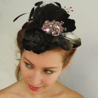 Party Fascinator by tracyholcomb