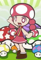 Toadette by Rosa-Mystical