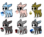 [OPEN] 9pts - Skull Fuzzy Adopts [5/6] [October 1] by NewAdopts666