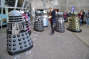 The Doctor and the Daleks (3) by masimage