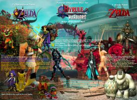 Hyrule Warriors DLC. Who Will the characters be? by Elemental-Aura