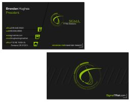 Sigma Business Card by wrekkluse