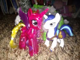 Pony Couples: Cadence and Shining Armor by LittleKunai