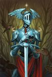 Knight with a great heart by sashulka