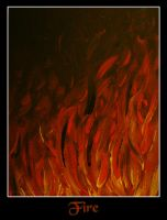 - Four Elements - Fire - by IskaDesign