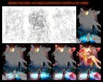 Behind the scene : Rat Rage Illustration Contest by PitiYindee