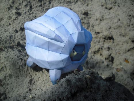 Shelgon papercraft by TimBauer92
