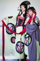 Yuuko and Watanuki: Fate's Embrace by FoxGlovesCosplay