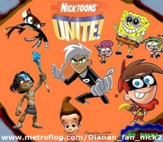 Nicktoons Unite by Dianafannick