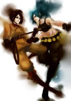 KoF Leona Whip by thestarofpisces