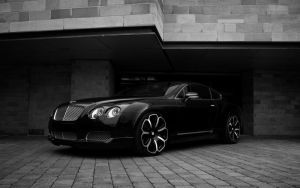 Bentley GTS 2008 Black Edition by Hoodiboy