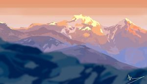 Himalayas by vincentee