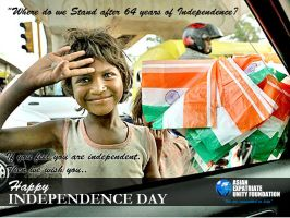 Indian Independence Greeting by MadreMedia
