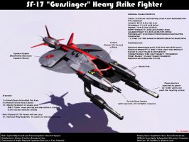 Gunslinger Heavy Fighter by ILJackson