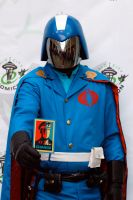 Cobra Commander ECCC 2012 by Studio5Graphics