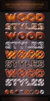 Elegant Wood Free Layer Styles by Romenig