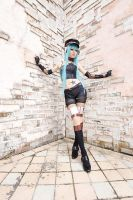 Sexy Vocaloid Miku Cosplay by Mcosplay