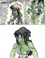 Gym hulk out pt 2 by SHFan