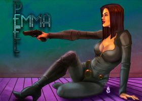 Emma Peel by MrTuRn