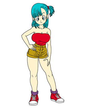 Young bulma by toshis0