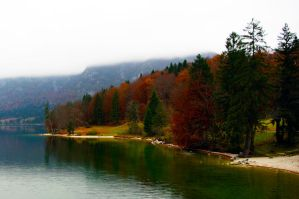 colors in the Bohinj by cinik33