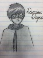 Damian Wayne by 0o-tui-and-la-o0