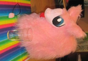 Fluffle Puff Plushie by GothicFrogDesigns
