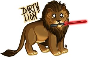 DARTH LION by tainteh