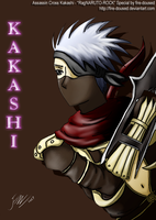 RagNARUTO-ROCK Kakashi by fire-doused