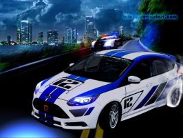 Focus ST-R Scape by dilelis