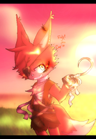 [FNAF/Old drawing] Foxy the pirate by Dragoncat12009