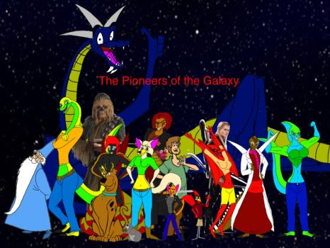 The Pioneers of the Galaxy Title Card by J9973