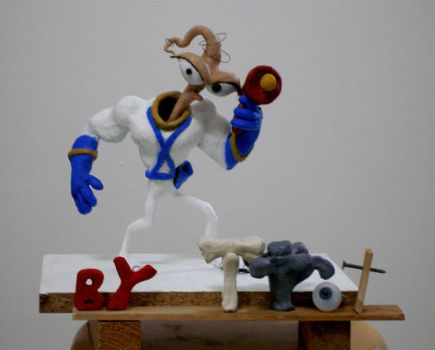 Earthworm Jim completed by Cowsayingmoo