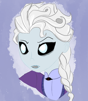 Queen of Draugrs and Snow by ZekroRaptor