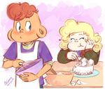 ''I love baking and I love...'' - Steven Universe by Koizumi-Marichan
