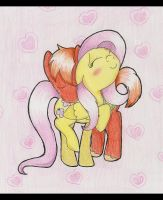 A shy couple by Doodlett