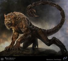 Percy Jackson Manticore by SebastianMeyer