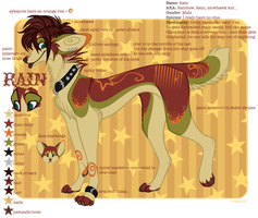 New Rain Ref Sheet by ccaatt90