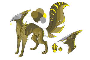 OS : Quillink adopt #1 [CLOSED] by SwarThylacine-Adopts