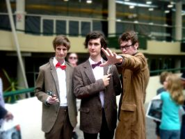 5.11.2011 Supanova-Doctor Who 10 and 11 by MissMurder1243
