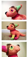 MonsterEnterprise Plush Commission by nettlebeast