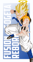 Gogeta Vector PREVIEW by TattyDesigns