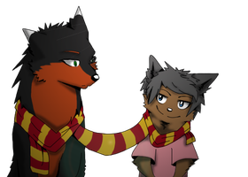 This scarf bro by dog-san