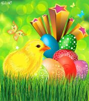Sources - Easter cards by Gala3d