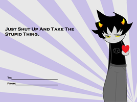 A Karkat Valentine by ni-hility