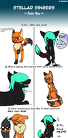Double Meme - with Wolfartist1106 by MayaArts