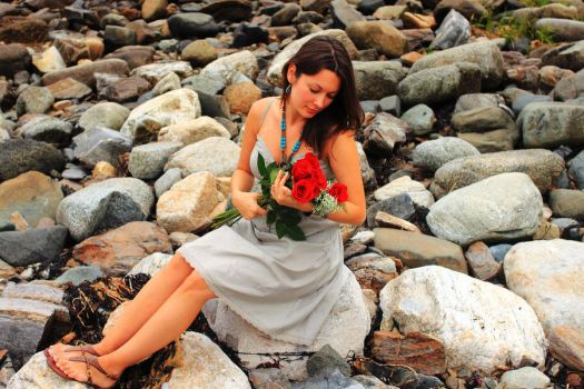 Flowers from the Rocks by Celem